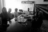 Посета прихватном центру за мигранте и основним школама у Кикинди